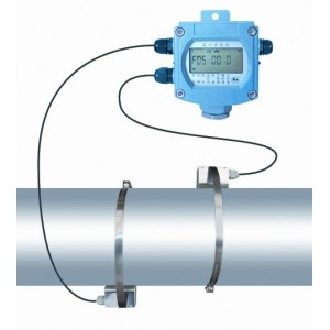 Battery Clamp On Ultrasonic Flow Meter for Water