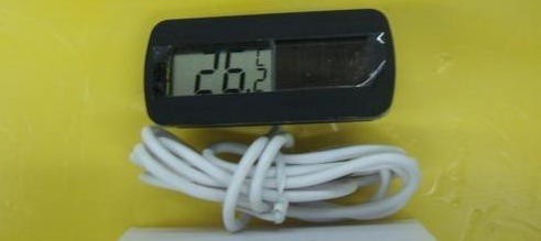 TDS-30 solar power thermometer