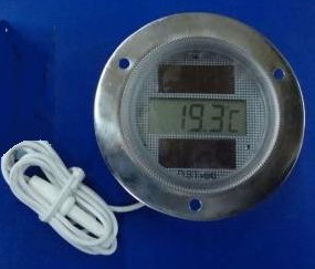 Solar Power Thermometer TDS-60